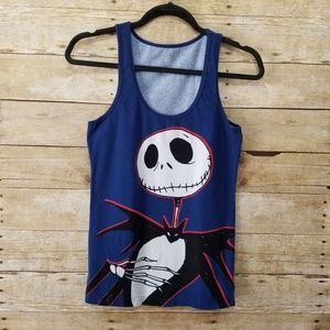 DIsney Jack Skellington Tank Top Womens Medium